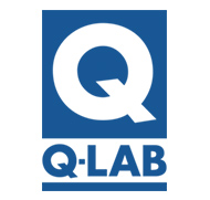 Q-Lab Logo Button that links to Q-Lab products page