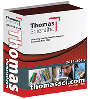 A picture of the Thomas Scientific catalogue