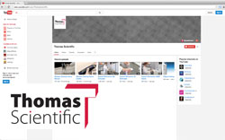 Thomas Scientific Youtubes Channel